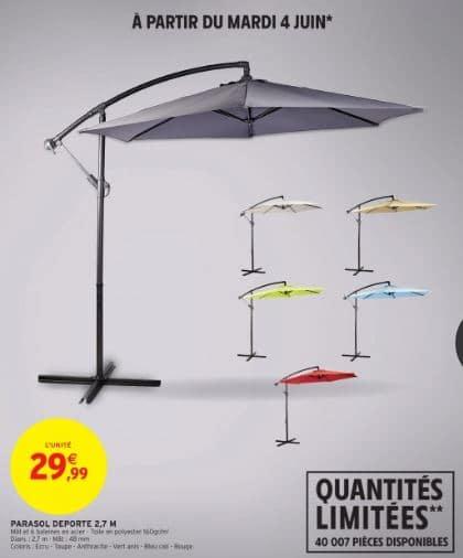 parasol deporte diametre 2 7m