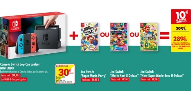 carrefour console nintendo switch 1
