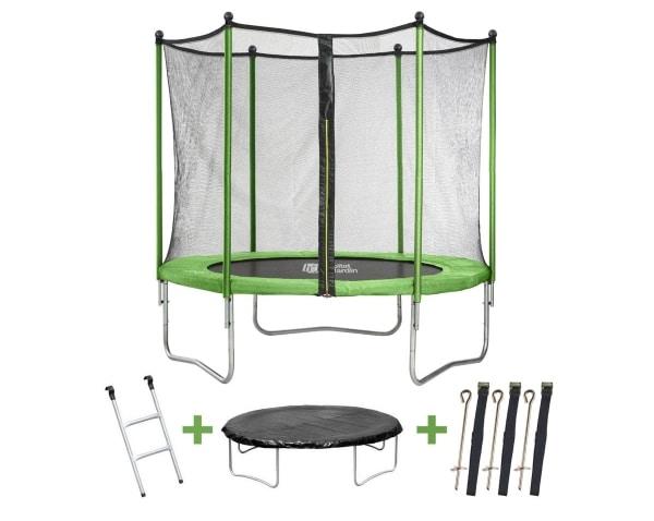 trampoline yoopi habitat et jardin