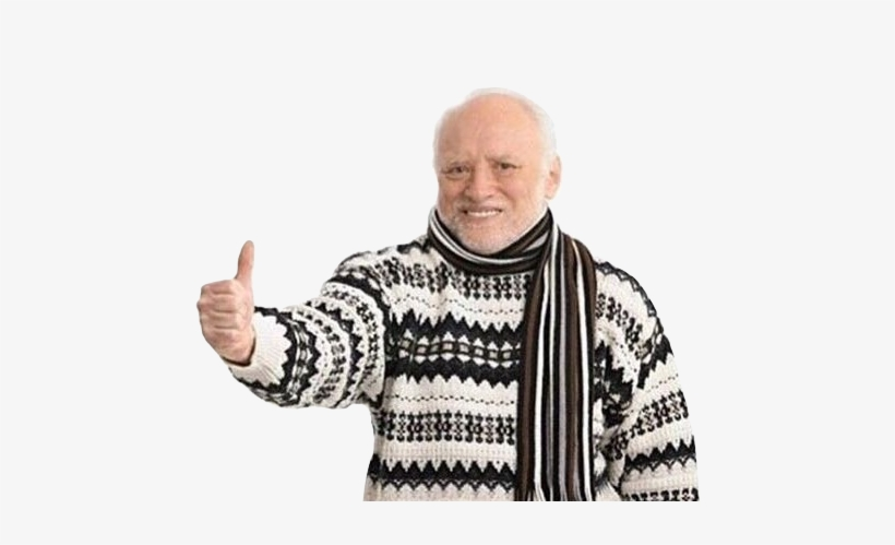 Ds41kcm Hide The Pain Harold Sweater P 279087 Png Images Pngio