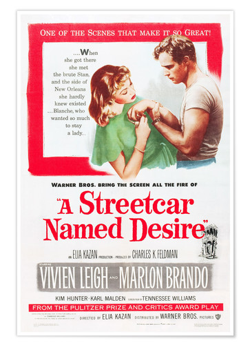 A Streetcar Named Desire Posters And Prints Posterlounge