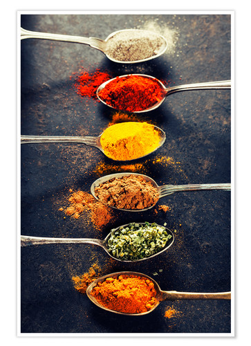 Spices Mix Posters And Prints Posterlounge Co Uk