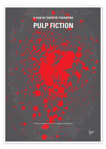 premium poster pulp fiction