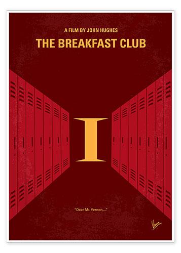 premium poster the breakfast club