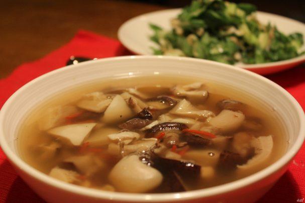 sup gribnoi iz zamorojennih gribov 54315 - Mushroom soup out of frozen mushrooms
