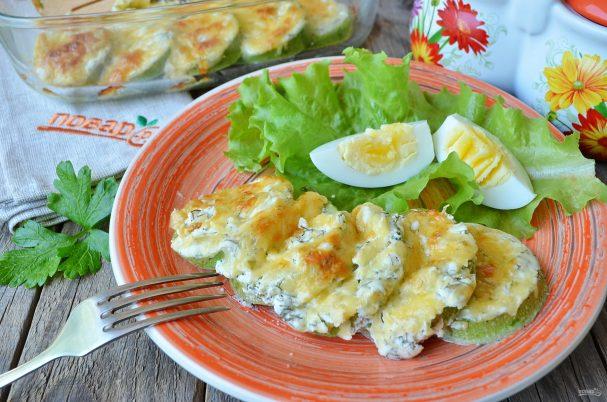 kabachki v duhovke v smetane 406798 - The zucchini in the oven with sour cream