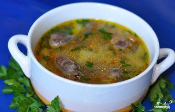 sup iz kurinih jeludkov 116130 - Soup of chicken gizzards