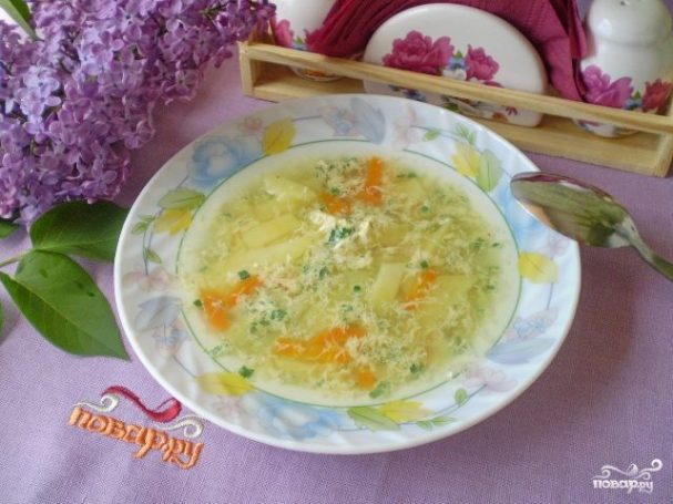 samii prostoi sup bez myasa 196068 - The easiest soup without meat