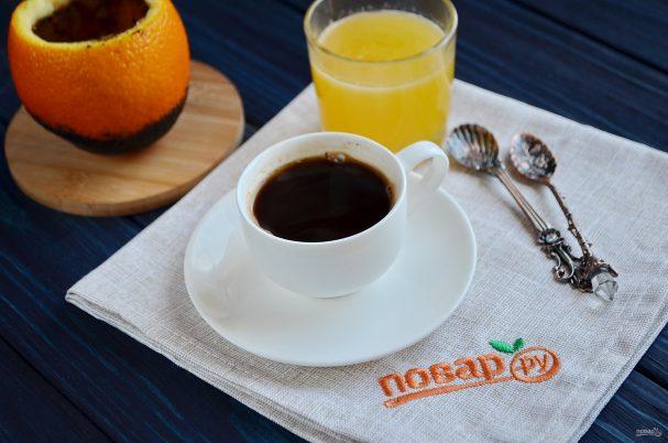 """Кофе в апельсине """"Бодрячок"""""""