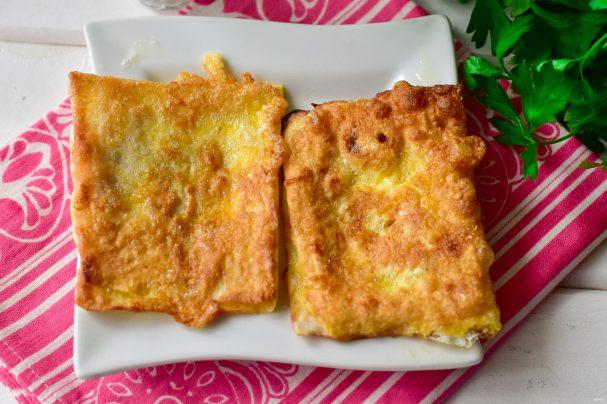 Пирожки из лаваша на сковороде