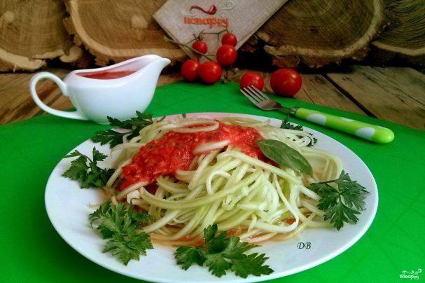 Сыроедческие спагетти