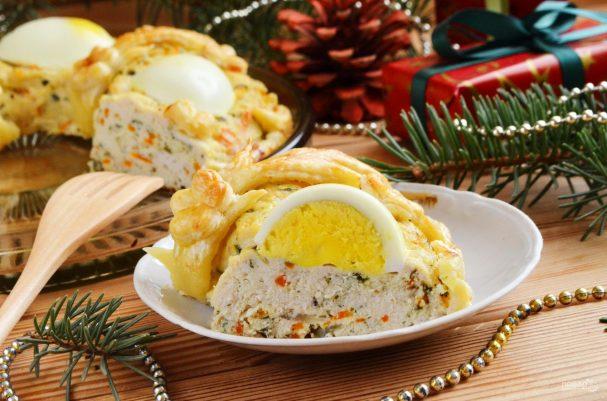 "pirog quotrojdestvenskoe kolcoquot 345797 - Cake ""Christmas ring"""