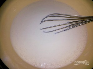 Сүттегі тесіктері бар құймақ - фото 5-қадам