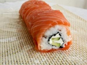 "Resepti Sushi ""Philadelphia"" kotona - Kuva vaihe 8"
