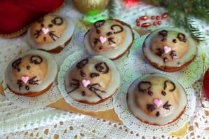 Кексики на Новый год Крысы - фото шаг 11
