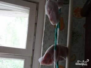 Үйде тауықтың кеудесін құрғатыңыз - фото 7-қадам