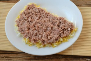 Салат с тунцом - фото шаг 3