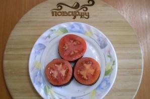 Жареные баклажаны с помидорами и сыром - фото шаг 7