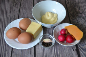 """Фаршированные яйца """"Мышки"""" - фото шаг 1"""