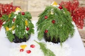 Порционный салат на Новый год - фото шаг 9