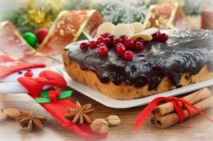 Рождественский кекс с мандаринами - фото шаг 12