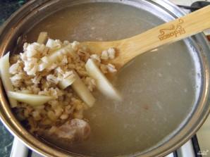 Pickle com cevada e pepinos salgados - foto passo 5