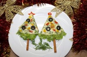 """Новогодняя закуска """"Ёлка"""" - фото шаг 10"""