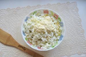 "Салат ""Мышка"" с сыром - фото шаг 8"