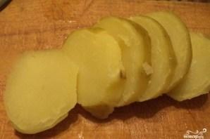 Лосось с картошкой в духовке - фото шаг 2