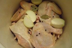 Студень из курицы - фото шаг 5