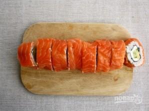"Sushi Resepti ""Philadelphia"" kotona - Kuva vaihe 9"