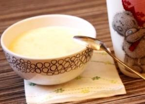 Corngröt på mjölk - Foto Steg 3