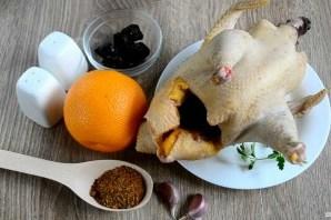 Курица новогодняя в духовке - фото шаг 1