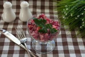 Салат с языком и сыром - фото шаг 5