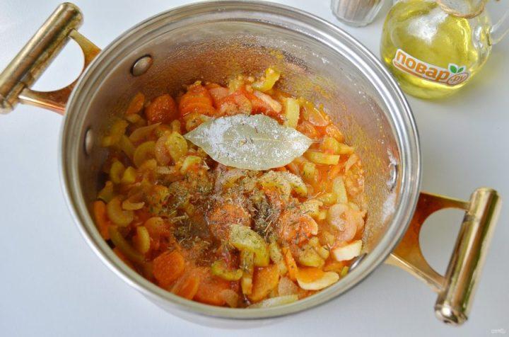 Итальянский чечевичный суп