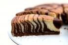 Кефирдегі «Зебра» торт