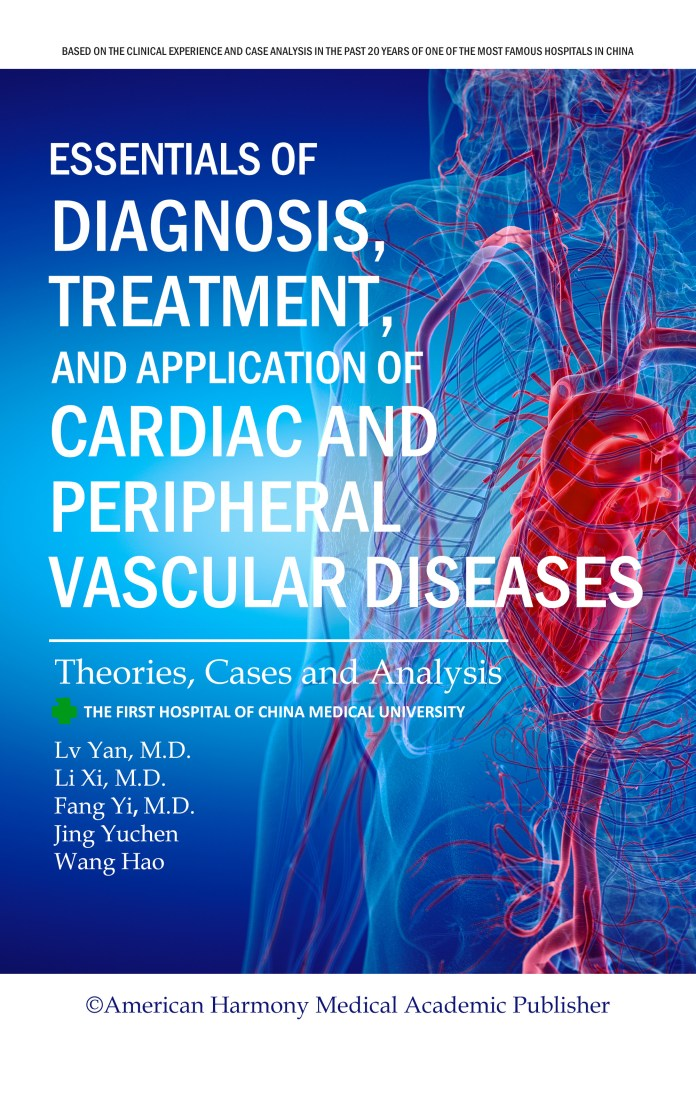 """""""Essentials of Diagnosis, Treatment and Application of Cardiac and Peripheral Vascular Diseases"""" is About to be Released on Amazon, Barnes & Noble Nook and Apple Books"""