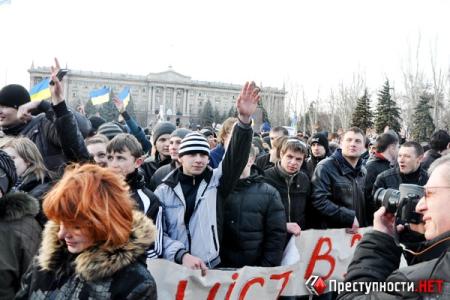 """""""Молодые регионы"""" едва не сорвали митинг против мажоров-насильников"""