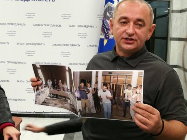 Матіос показав фото Клименка