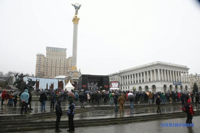У столиці проходить музичний марафон на підтримку підозрюваних у вбивстві Шеремета