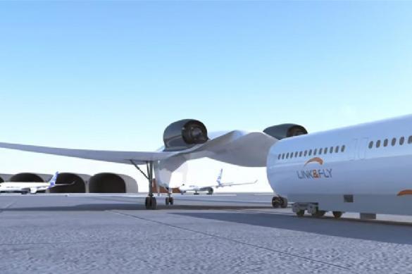 Изобретен поездолет представлен проект самолета-поезда