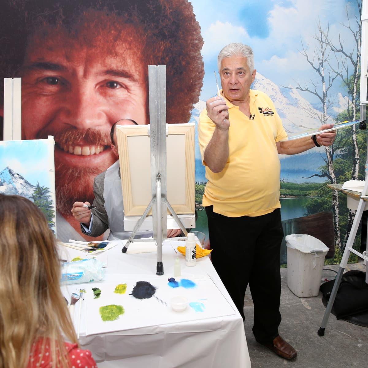 Bob Ross Malen Am Tv Zhdk E Learning