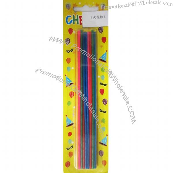 Promotional Thin and Tall Sparkling Stick Candles Gift ...