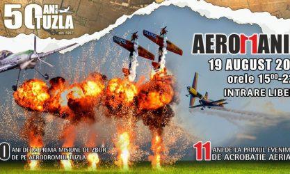 AEROMANIA 2017 – Show aviatic pe Aeroportul Tuzla