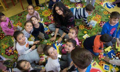 Primul program de educație rutieră pentru preșcolari ajunge în peste 180 de grădinițe din România