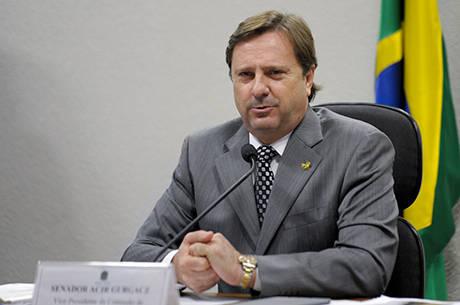 O senador Acir Gurgacz (PDT-RO), que cumpre prisão domiciliar