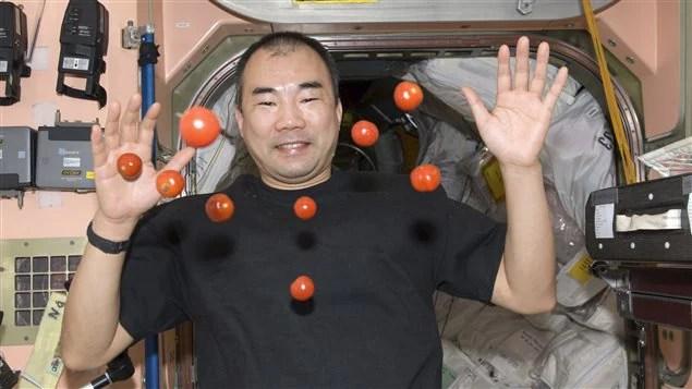 L'astronaute japonais Soichi Noguchi