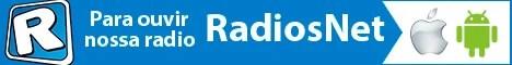 Para ouvir nossa rádio, baixe o aplicativo RadiosNet para celulares e tablets com Android ou iPhone/iPads.