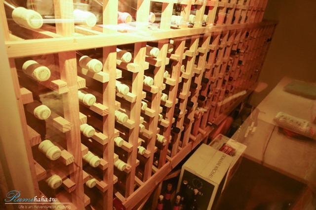 整牆的酒櫃-Wine Cafe-大安站