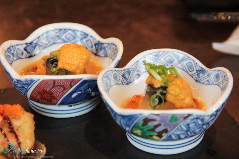 海膽豆府清湯凍-台北東區-日本料理-美食推薦-花酒藏
